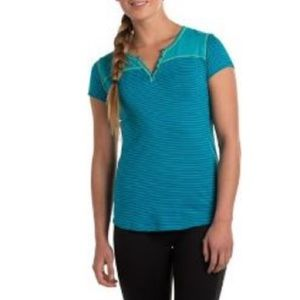 3/$30 Kuhl Veloce Modal/ Organic Cotton Stripe Top